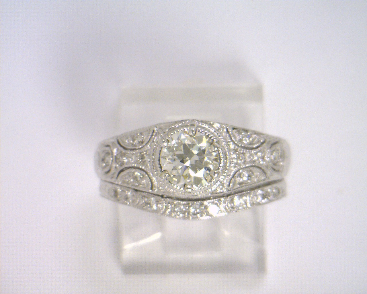 cute rings white engagement lbhpyrh gold wedding filigree ring diamond